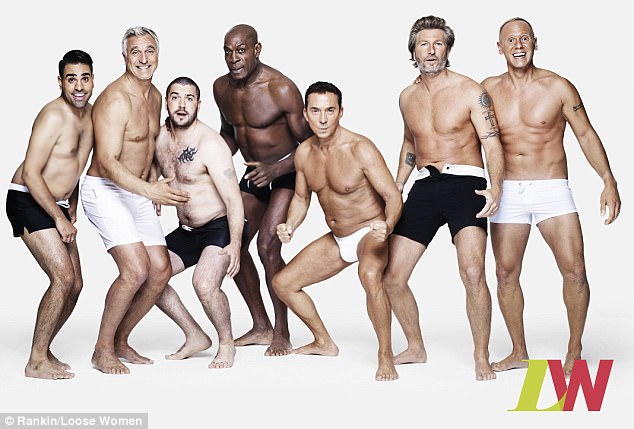 Inspiring: Following in the footsteps of the Loose Women panel, Shayne and Dr Ranj, along with Robbie Savage, David Ginola, Bruno Tonioli, Robert Rinder, and boxing icon Frank Bruno joined ITV's Body Stories campaign to promote good self esteem