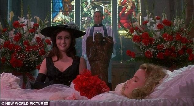 'Hallelujah!' Back in 1988, the former Hollywood bad-girl famously played ambitious, bulimic Heather Duke in Michael Lehmann's cliquey cult classic penned by Daniel Waters
