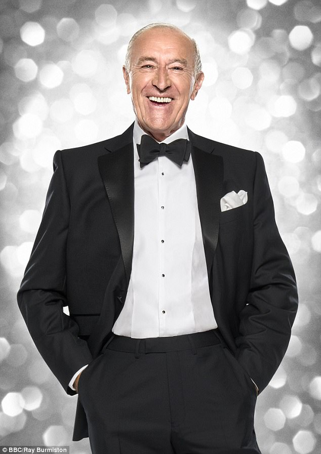 Stunner:At 73, he pared back his work life after departing Strictly Come Dancing in December last year