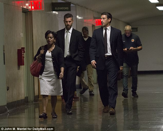 Legal team: The accused was accompanied by his attorney Spiro in the court halls