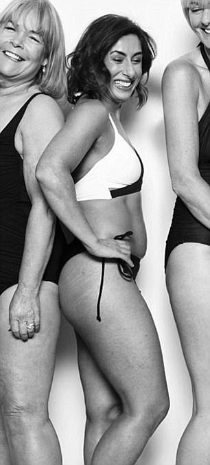 Saira in the Loose Women photo shoot