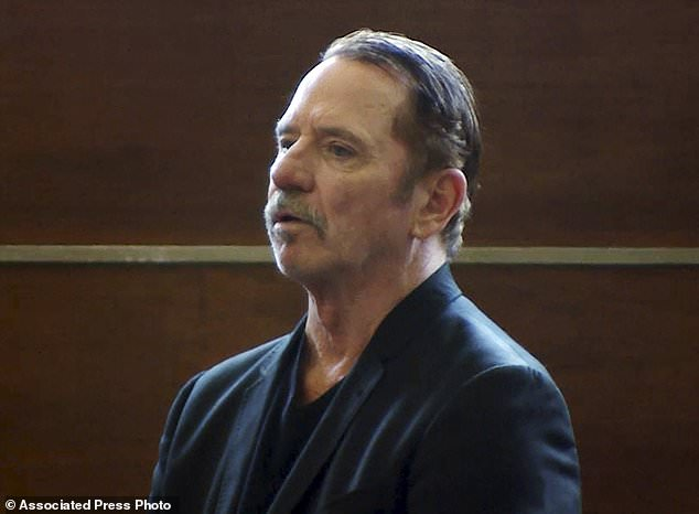 Actor Tom Wopat has expressed regret over his actions after he allegedly groped a female member of a local production of 42nd Street. He is pictured in court on Thursday
