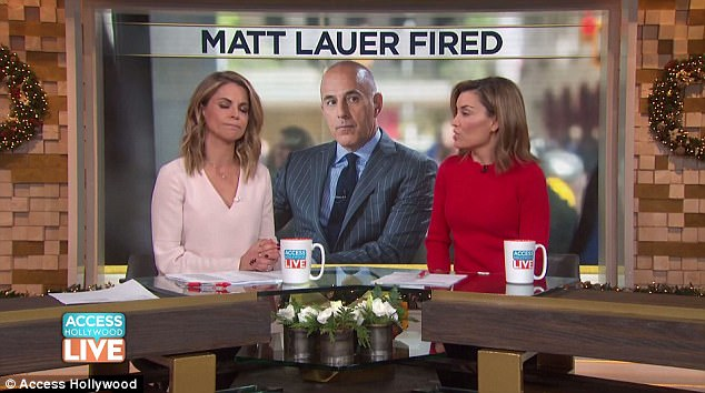 Morales gave her support to Matt Lauer's accuser and used the statement to deny affair rumors
