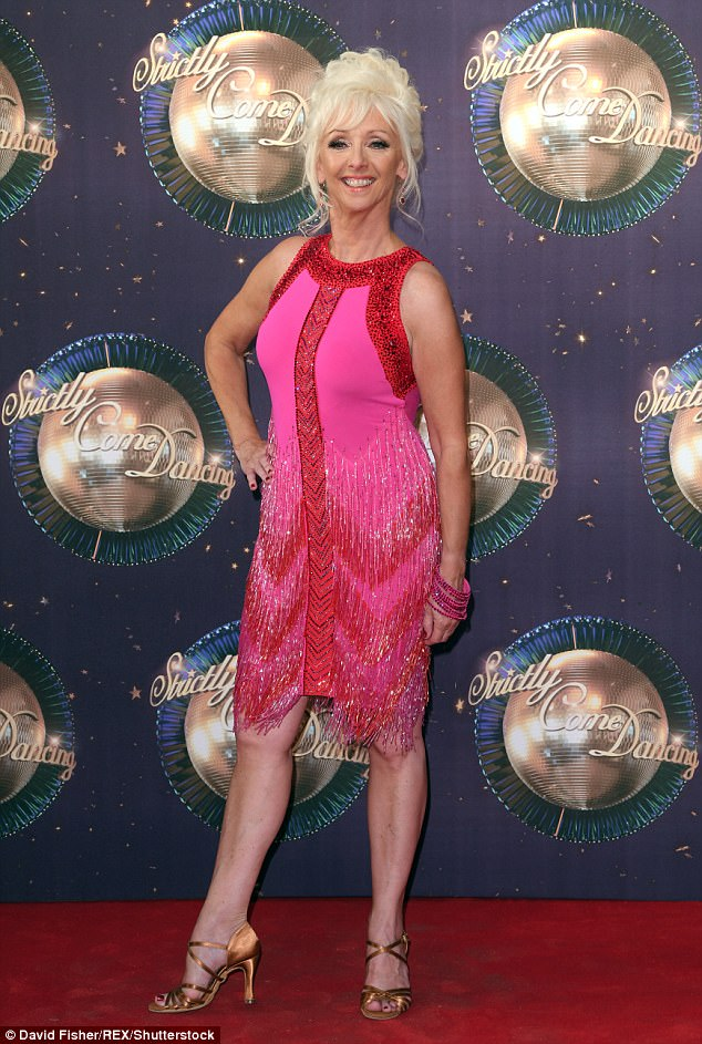 Blunder:Strictly Come Dancing's Debbie Mcgee, 58, reportedly made an error when she accidentally revealed that Reverend Richard Coles had left the show too early on her BBC Berkshire radio show on Sunday morning