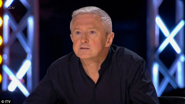 Decisions: Louis Walsh was up next to pick his final six boys to go to Judges houses