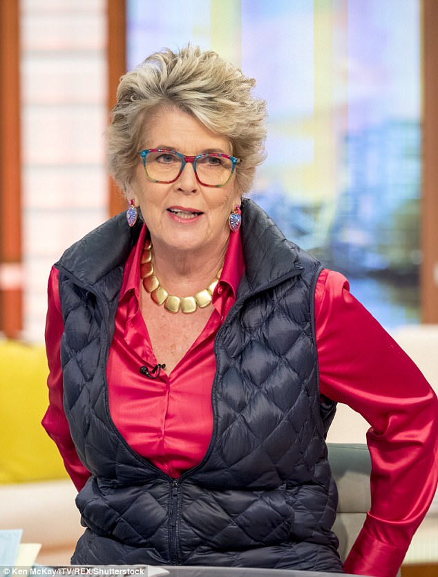 No way! Great British Bake Off's Prue Leith, 77, was banned from taking part in the upcoming Dancing on Ice revival by her management team due to health concerns