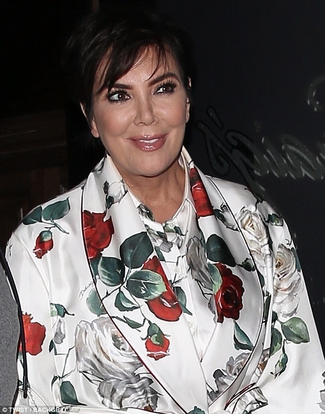 Still looking young: Though she is over 60, Jenner has maintained a youthful appearance