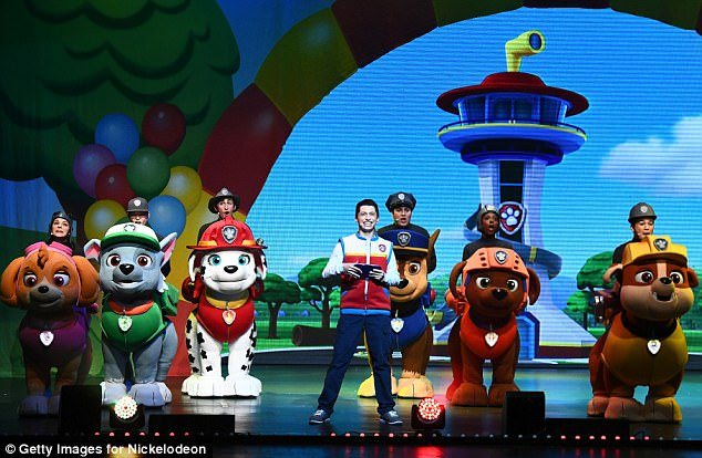 On stage:PAW Patrol Live! Race to the Rescue will be at the Dolby Theater until October 15