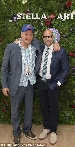 Stars come out:Stella Artois hosted Henry Holland and Matt Richardson as well as megastars Woody Harrelson and Stanley Tucci