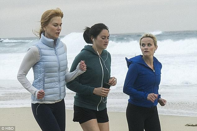 Big time: Nicole Kidman and Reese produced Big Little Lies which co-starred Shailene Woodley and was a huge hit for HBO