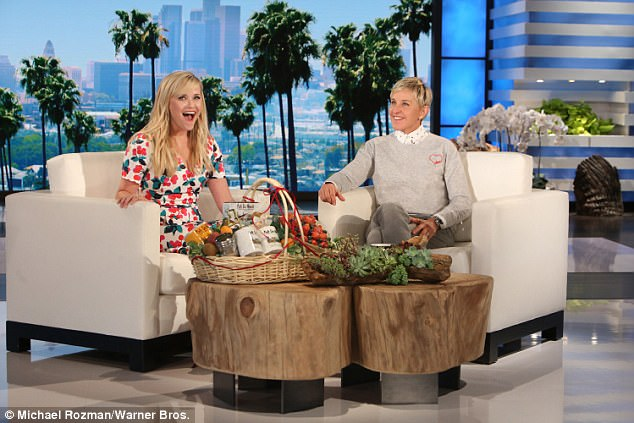 The dish: Reese was seen earlier on Ellen telling the host that she is working out details for a second season of HBO's Big Little Lies