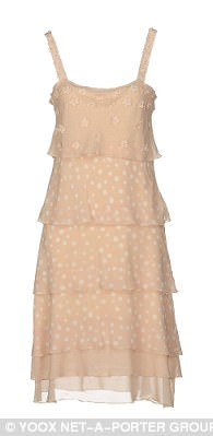 Cool neutrals: Just For You dress, $81, yoox.com