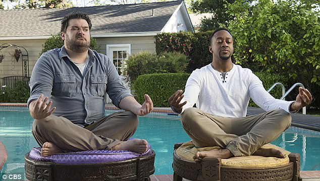 Men, men, men, men: CBS will add six new shows to their lineup this fall (Bobby Moynihan and Jaleel White in 'Me, Myself & I')
