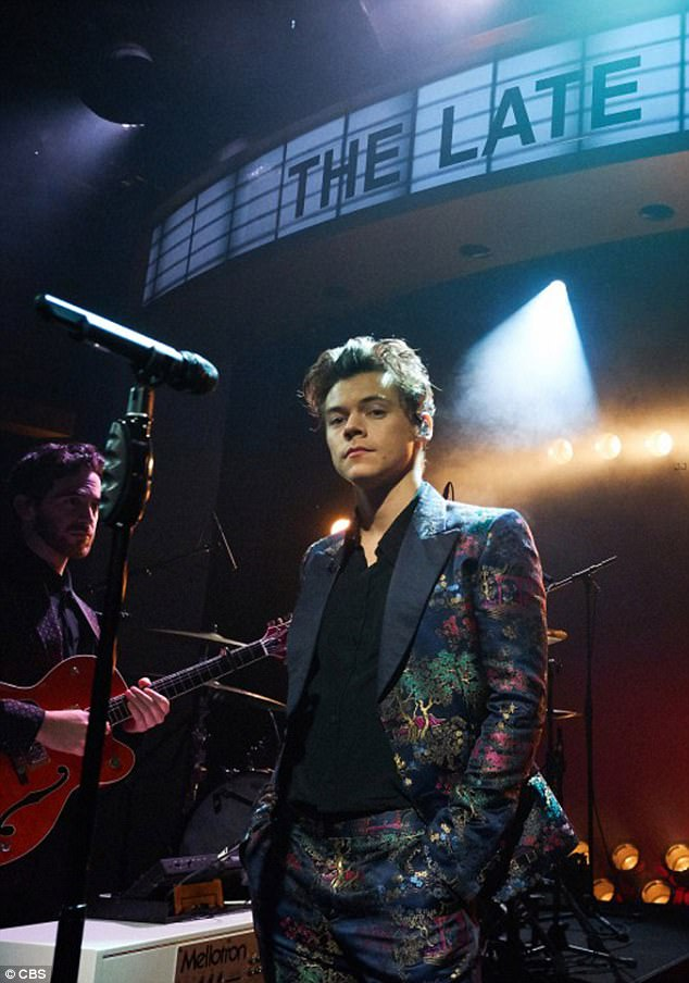Harry Styles recently performed the pop song about Jones on the Late Late Show. In the song, Styles said the UCLA student has a 'book for every situation'. Her friend confirmed to DailyMail.com Jones, who was home schooled in South Carolina, is an avid reader