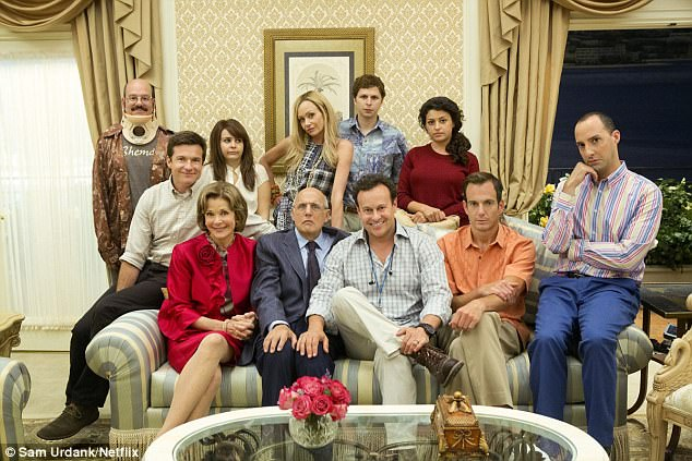 Back together:Arrested Development will be returning with a season five to Netflix as announced on Wednesday