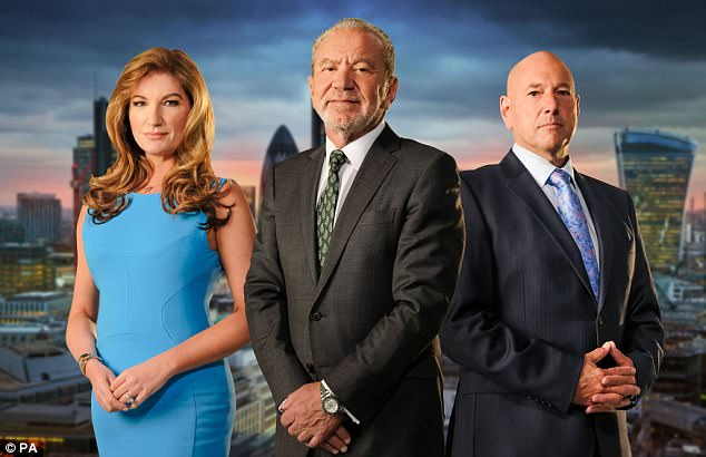 High hopes: Michaela is among the latest crop of contestants hoping to win a lucrative job with Sir Alan Sugar on the latest series of BBC show The Apprentice