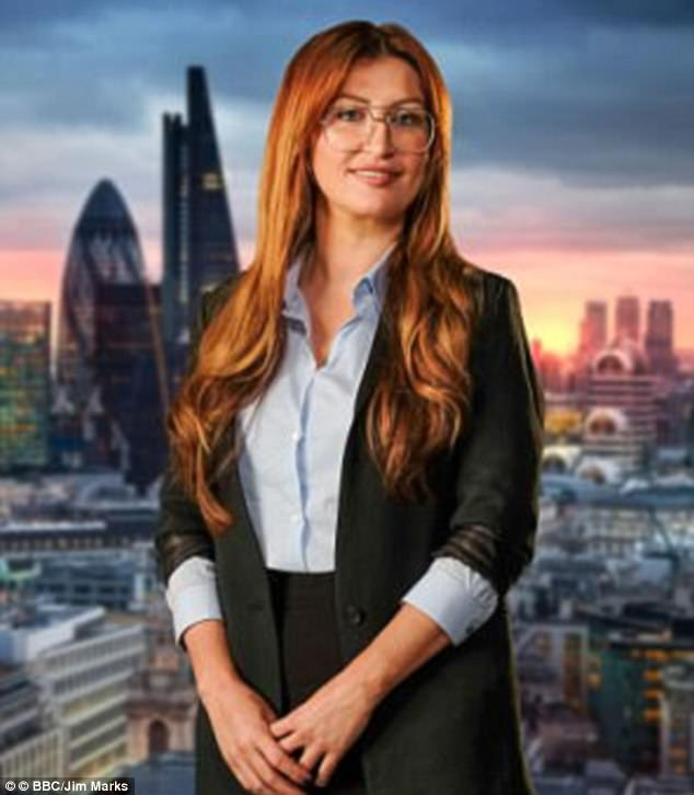 Controversy: The Apprentice contestant Michaela Wain reportedly has an historic criminal conviction for obstructing a police officer in her native Bolton