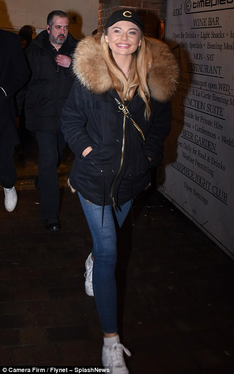 Homecoming Queen!Georgia Toffolo was back from Australia and to her roots on Saturday night, as she enjoyed her first night out in her native Devon since winning much-loved reality show I'm A Celebrity