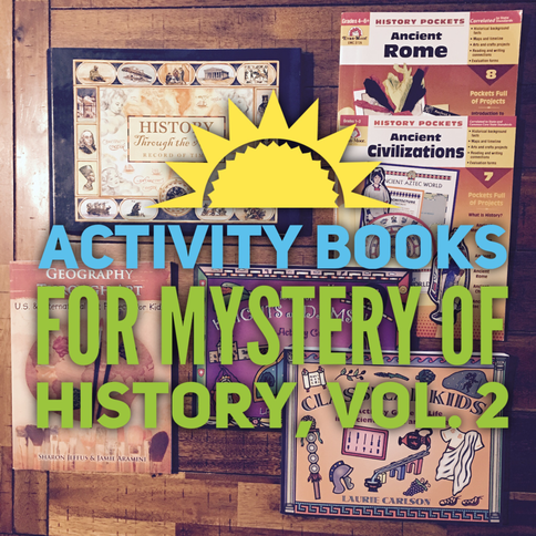 Mystery of History activity books