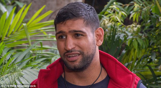 Round two:Unfortunately for camp, Amir was then voted to do the next Bush Tucker trial, which will air on Tuesday night's episode