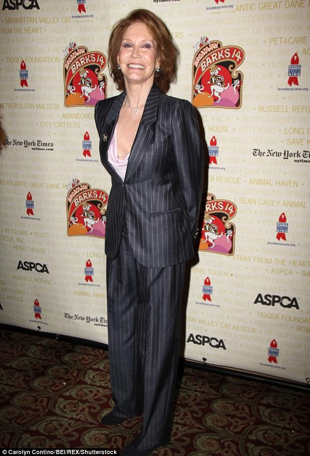 Comedic chops: Mary Tyler Moore was honored for her many TV contributions