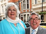 Inseparable: Anne and her adored husband Ronnie Corbett in 2010.  Looking back over more than 50 years together, Anne says: 'We did love each other so very much'