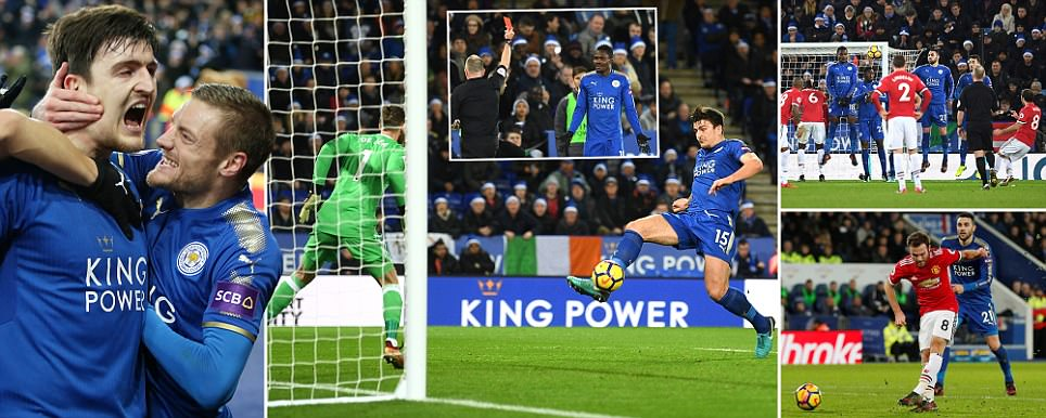 Leicester City 2-2 Man United: Harry Maguire strikes late