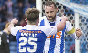 Kilmarnock 2-1 Rangers: Murty's first game ends in defeat