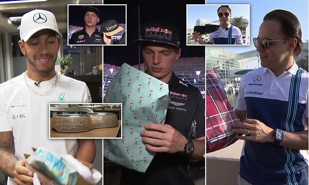 F1 drivers reveal hit-and-miss Secret Santa gifts
