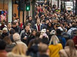 Millions of eager Christmas shoppers descended on the country's high streets and malls today as 'Super Saturday' looks to smash spending records. Leeds city centre was packed with last minute bargain hunters