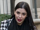 El Chapo's 28-year-old wife Emma Coronel Aispuro visited him at the Manhattan Correctional Facility in Manhattan on Thursday with their two daughters