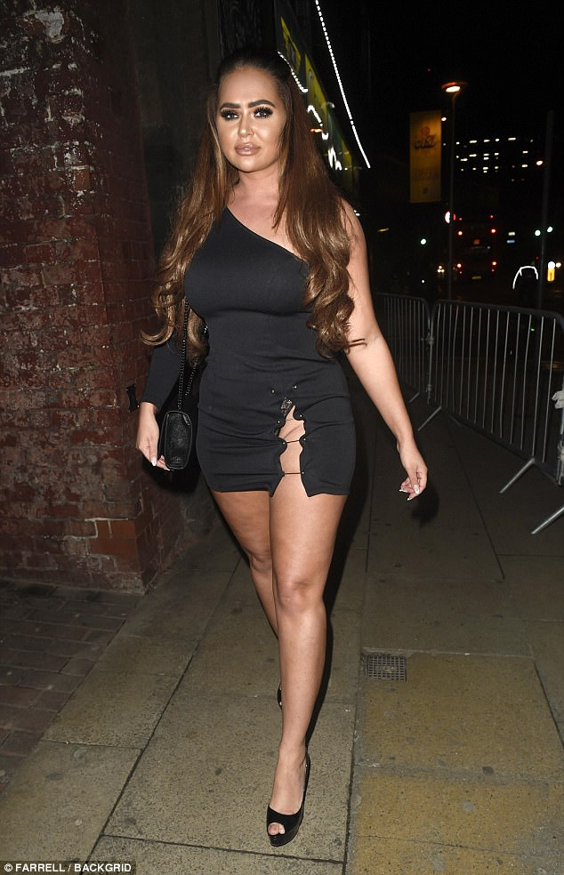 Reality star babes: Chanelle shot to fame on Big Brother this summer, and previously appeared on Dating In The Dark and Ex On The Beach