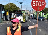 'Lollipop lady' Amy Dowsettis earning a whopping $130,000 for a job that requires just two day's training.