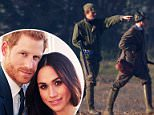Prince Harry (left) will not be taking part in a traditional shoot on Boxing Day because he does not want to upset Meghan Markle