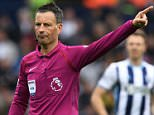 Mark Clattenburg, pictured, is said to have hooked up with divorcee Andrea Hodgkinson, 50, in monthly flings where they would 'practically tear each other's clothes off'