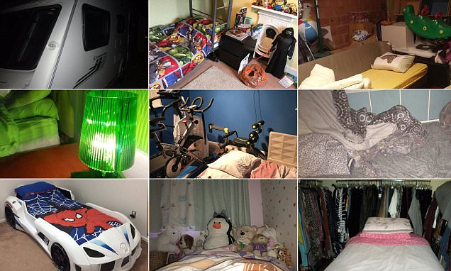 Twitter reveals beds they are forced to sleep in at Xmas