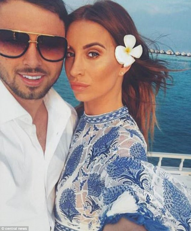 Looking back: Ferne's only joint interview with ex-boyfriend and now jailbird Arthur Collins has been unearthed - and shows signs their romance was doomed from the start
