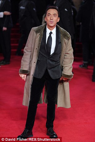 The Italian television star, 62, dedicated Rod Stewart's version of In My Life to loved ones who died in the 1990s as he appeared on the radio show