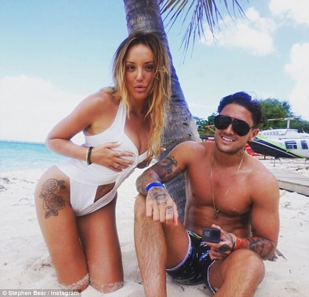 Angry: Charlotte Crosby's furious parents have slammed Stephen Bear's Instagram post begging Charlotte to take him back