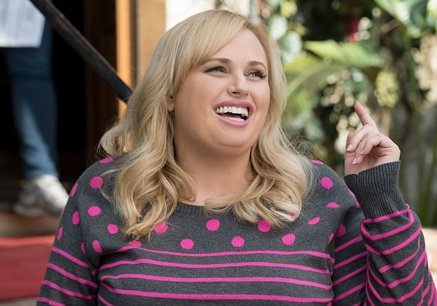 Above, Rebel Wilson has played Fat Amy in all three Pitch Perfect movies. She's a charismatic performer, undoubtedly, but her steady supply of off-colour one-liners somehow suck the charm out of the exercise