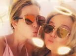 Seasonal sisters:Tiffany trump posted a video of herself amnd Ivanka laying by the pool on Tuesday at Mar-a-Lago