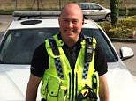 PC Dave Fields died in a Christmas Day crash in Sheffield