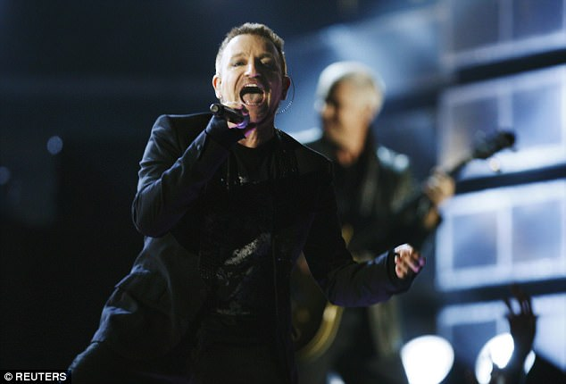 Confession:Bono has revealed that he almost died while recording new U2 album Songs Of Experience.He admitted that he finds it difficult to talk about the 'extinction event'