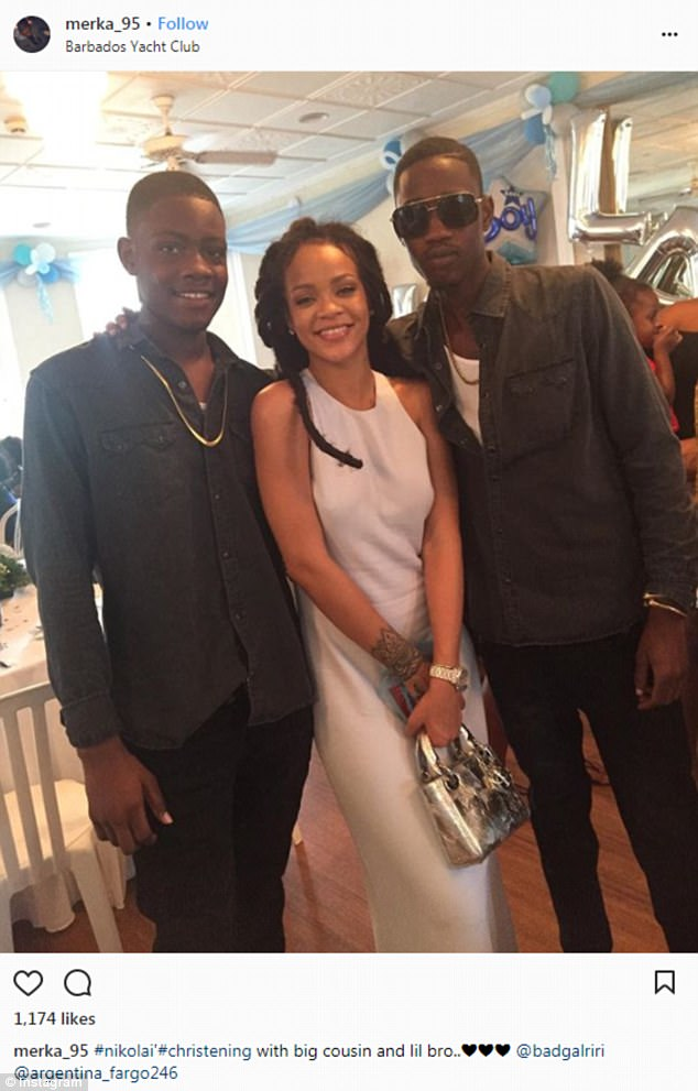 Hometown hero: The songstress frequently returns to her native Barbados to meet with family