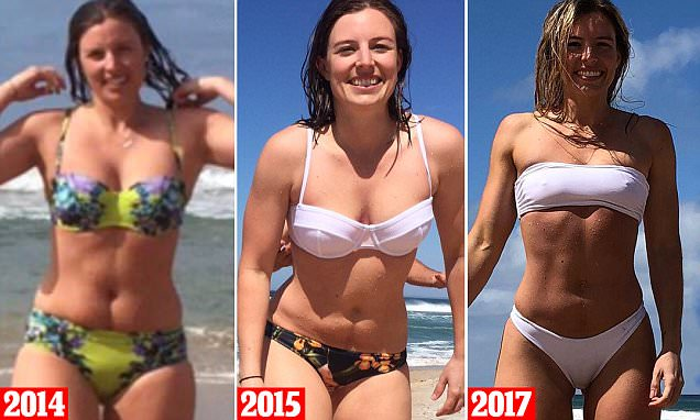 Melbourne personal trainer posts comparison photo of body
