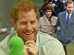 BBC handout photograph showing Prince Harry in the studio for the Radio 4 Today programme which he has guest edited. PRESS ASSOCIATION Photo. Issue date: Wednesday December 27, 2017. See PA story ROYAL Harry. Photo credit should read: Jeff Overs /BBC/PA Wire NOTE TO EDITORS: This handout photo may only be used in for editorial reporting purposes for the contemporaneous illustration of events, things or the people in the image or facts mentioned in the caption. Reuse of the picture may require further permission from the copyright holder.