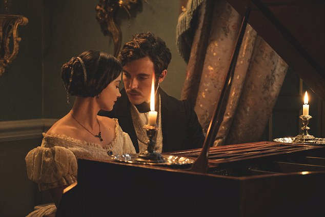 Festive celebrations: The Christmas special, called Comfort And Joy, will celebrate all of the festivities of a Victorian Christmas at Buckingham Palace.