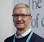Happy days: Tim Cook has seen his pay go up (PA)