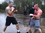 The fight was said to be over an 'unsettled argument' between families who had been quarreling via YouTube
