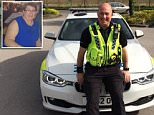 PC Dave Fields, pictured, died after his BMW 3 Series was involved in a collision with a Citroen C3 heading the opposite direction on the A57  in Sheffield on Christmas Day